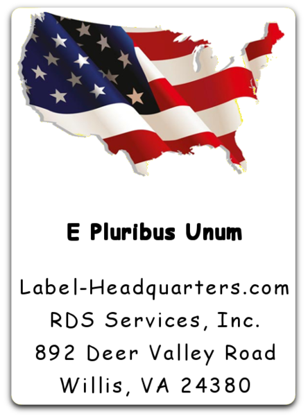 Patriotic Label
